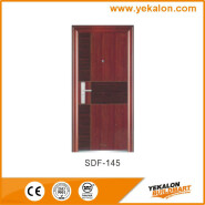 Yeakalon SDF-145 Frosted Heat Transfer Series Modern Strong Steel SECURITY Door