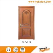 On Sale Premium Quality Good Design simple and fashion Flush veneer interior door(FLD-221)