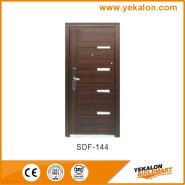 Yeakalon SDF-144 Frosted Heat Transfer Series Modern Salable Steel SECURITY Door