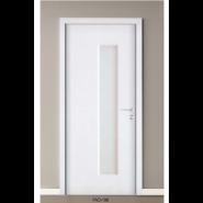 Yekalon Promotions Top Grade Fashion Design Waterproof Toilet Door Bathroom Door Interior PVC door (PVD-198)