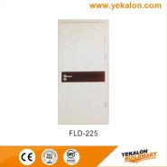 Sales Promotion High Quality Original Design simple and fashion Flush veneer interior door(FLD-225)