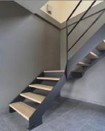 Yudi Staircase Wood Staircase