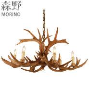 Antlers Vintage Style Resin 6 Light Chandeliers 1008-6,Diameter 100CM Height 48CM antler chandeliers
