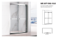 Opening Sale Samples Are Available Special Design Sliding Door SE-ST190-122