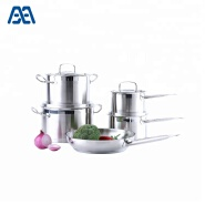 Kitchen accessories durable ss cooking pot set