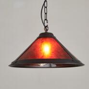 Large Hanging Industrial europe vintage wrought Iron led pendant light