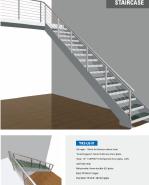 Sales Promotion High Quality Original Design L-shape staircase YKS-LGH1