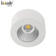 5W COB without driver round aluminum led wall lamp led downlight