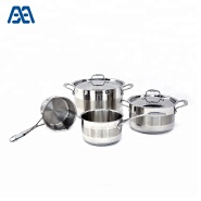 High Quality German Style Straight Shape Casserole Cookware set