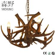 industrial antler fixtures pendant lighting, indoor wholesale pendant lamp