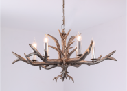 Newest Style antler pendant light with E14 lamp holder different lamp shades optional