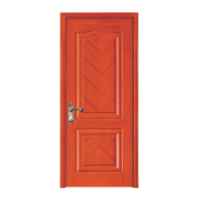 Yekalon On Sale Premium Quality Good Design Solid Wood Entrance Door (PD-421)