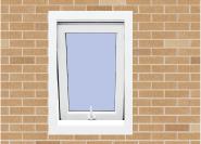 The Most Popular Export Quality OEM Design UPVC awning Windows MC00629