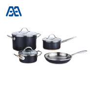 Professional design durable stainless steel cookware set