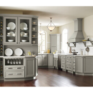 Hot Sales High Standard Professional Design solid wood kitchen cabinet sw-003