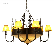 Rustic Cabin Lighting Fixtures for Kitchen and bedroom decoration vintage style