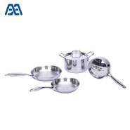 Modern design stainless steel cooking pot set