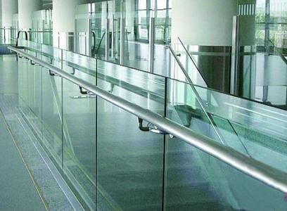 Advertising Promotion Super Quality Unique Design Aluminum glass railing AU002
