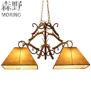 America style retro decorative led lighting Chandelier for villa&bar