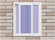 Factory Supply Luxury Quality Customizable UPVC window U-S001
