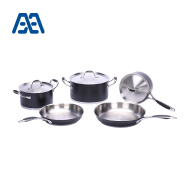 German high end stainless steel cookware set
