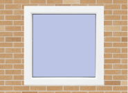 Best-Selling Best Quality Comfortable Design UPVC fixed Windows W8
