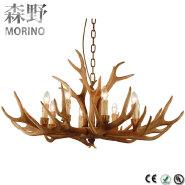European wood chandelier pendant light christmas decoration modern wooden chandelier