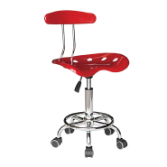 Hot Sale of swivel wheel without armrest plastic lift leisure chair