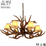 American Country style E14 modern Pendant Chandeliers Lights