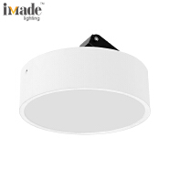 Adjustable 15w 1575lm round smd surface mounted led panel downlight