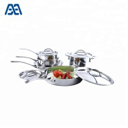 Best price cooking tools stainless cookware set