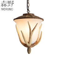 European Living Room Vintage Pendant Light loft stype chandelier