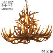 Christmas village wooden edison pendant lights modern