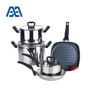 Safe and environmental multifunction cookware set