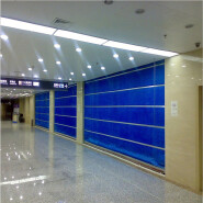3 hours fire rated roller shutter excellent quality inorganic fabric fireproof door