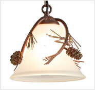 Large Pine Cone Chandelier