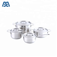 Stainless Steel Kitchen Cooking Pot/ Casserole Set