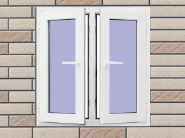 Opening Sale Samples Are Available Special Design UPVC Window U-IC001