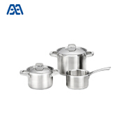 Best selling hot pot cooking pan stainless steel cookware set