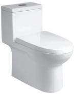 On Sale Premium Quality Good Design one piece toilet T-E6324-WS