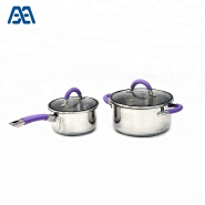 Premium Cooking Pot Induction Stainless Steel Cookware Set
