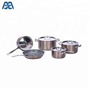 Household special surface stainless steel cookware set