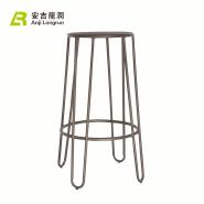 Heavy metal retro industrial lifting vintage bar stool Iron bar furniture