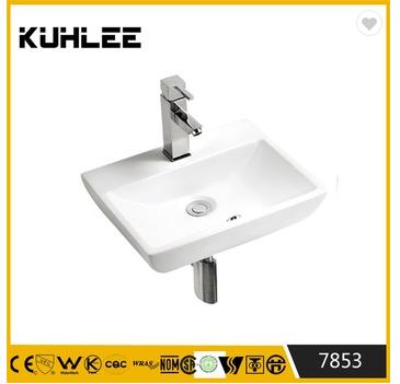 Elegant design Ceramic wall mount wash basin bracket