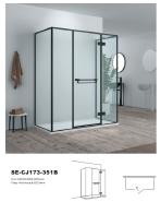 New Product Highest Level Fancy Design Casement Door SE-CJ173-351