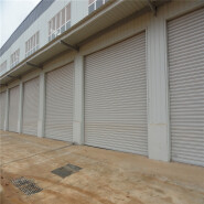 Windproof shutter door