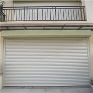 Custom Double Layer Slat Aluminium Shutter Door