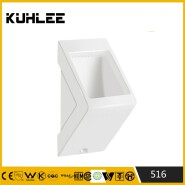 KL-516 Triangle designed wall mount small size ceramic urinal