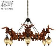 Large hanging energy saving hotel led chandelier