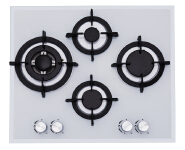 Built-in China Supplier Tempered Glass Gas Hob Stove Ce Certificate Jzg54201